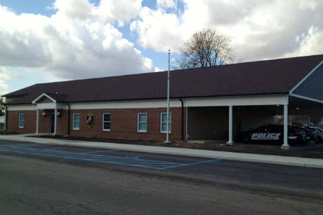 Decatur Police Station on 7th Street